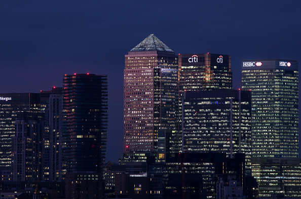 Urban Skyline「General Views Of The Canary Wharf Financial District」:写真・画像(10)[壁紙.com]