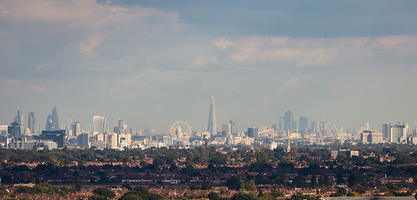 Panoramic「The London Skyline」:写真・画像(1)[壁紙.com]