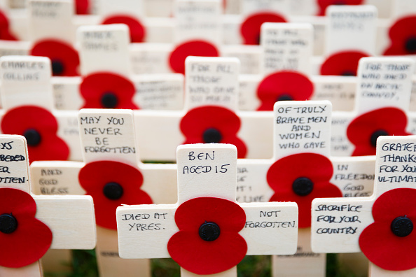 Tristan Fewings「Duke Of Edinburgh And Prince Harry Visit The Fields Of Remembrance」:写真・画像(18)[壁紙.com]