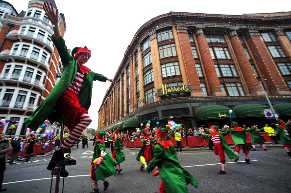 Knightsbridge「Harrods Christmas Parade」:写真・画像(17)[壁紙.com]