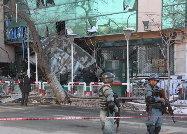 Exploding「Bomb Kills Guard At Kabul Shopping Center」:写真・画像(10)[壁紙.com]