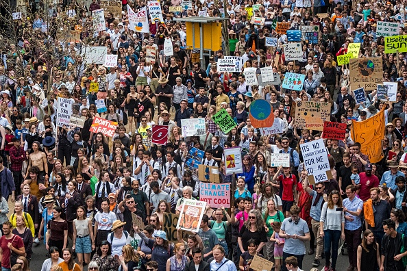 Global「Australians Rally For Climate Action As Part Of Global Climate Strike」:写真・画像(9)[壁紙.com]