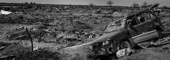 モノクロ「Ruined Landscape Tells Of Fierce Fight In Final ISIS Stronghold」:写真・画像(10)[壁紙.com]