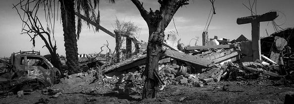 モノクロ「Ruined Landscape Tells Of Fierce Fight In Final ISIS Stronghold」:写真・画像(16)[壁紙.com]