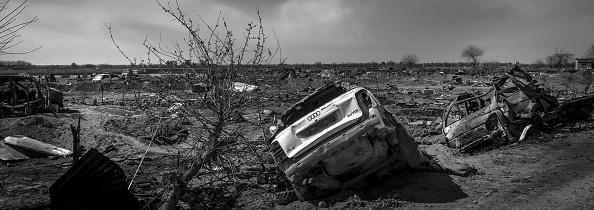 モノクロ「Ruined Landscape Tells Of Fierce Fight In Final ISIS Stronghold」:写真・画像(6)[壁紙.com]