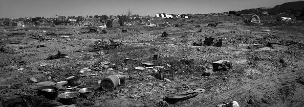 モノクロ「Ruined Landscape Tells Of Fierce Fight In Final ISIS Stronghold」:写真・画像(4)[壁紙.com]