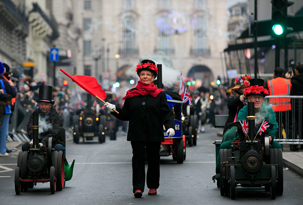 General View「Annual New Year's Day Parade Through London」:写真・画像(12)[壁紙.com]