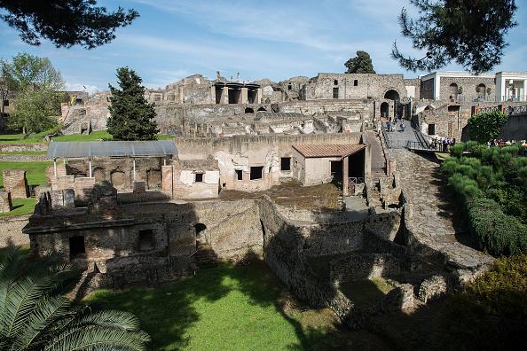 General View「Pompei Archaeological Site」:写真・画像(14)[壁紙.com]
