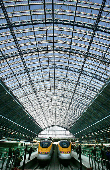 Railroad Station「St Pancras International Station Begins Its Eurostar Service」:写真・画像(18)[壁紙.com]