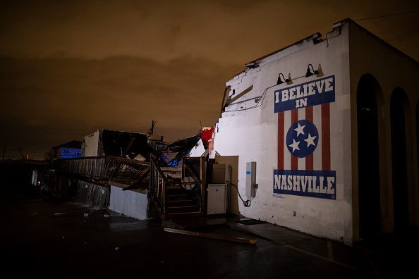 Nashville「Tornado Hits Nashville, Tennessee」:写真・画像(19)[壁紙.com]