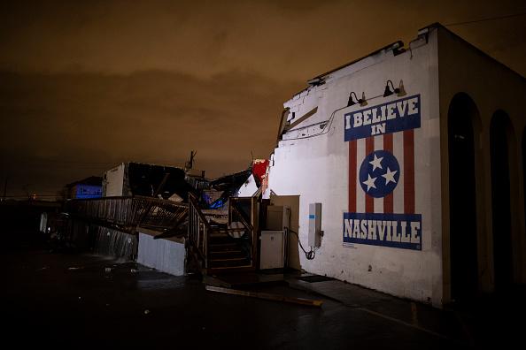 Nashville「Tornado Hits Nashville, Tennessee」:写真・画像(18)[壁紙.com]