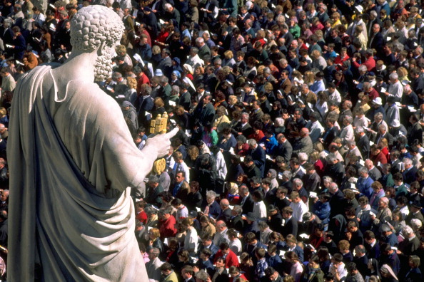 Religious Mass「Pope John Paul II Celebrates Easter」:写真・画像(3)[壁紙.com]