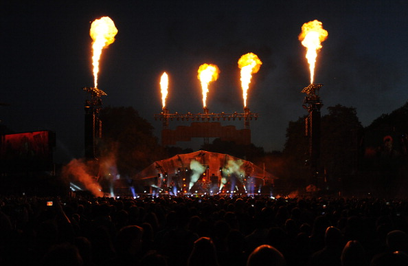 General View「Muse Perform At The World War Z World Premiere」:写真・画像(3)[壁紙.com]