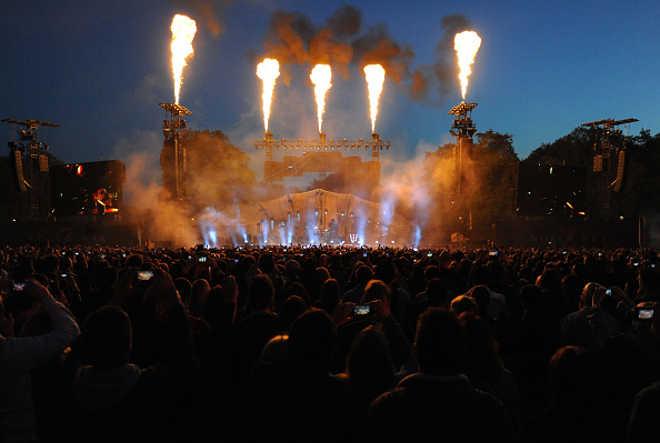 General View「Muse Perform At The World War Z World Premiere」:写真・画像(2)[壁紙.com]