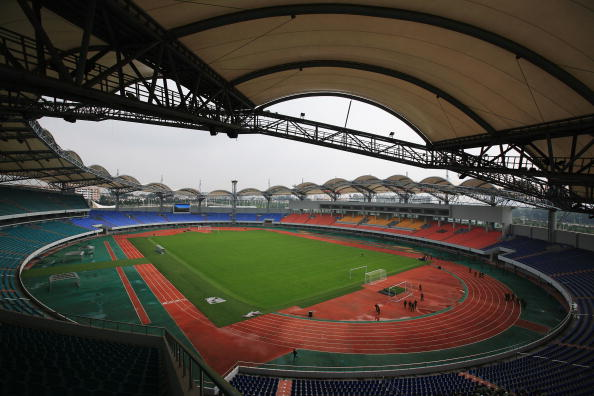 Hebei Province「Scenes Of Qinhuangdao - Olympic Soccer City」:写真・画像(14)[壁紙.com]