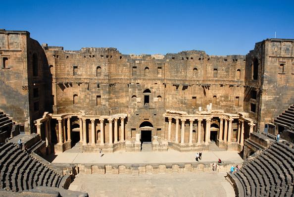 UNESCO World Heritage Site「Bosra Amphitheatre」:写真・画像(17)[壁紙.com]