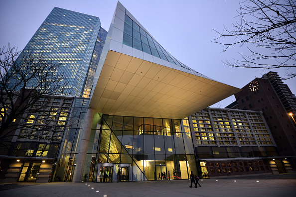 Seat of the European Central Bank「Mario Draghi Holds First Press Conference In New ECB Headquarters」:写真・画像(4)[壁紙.com]
