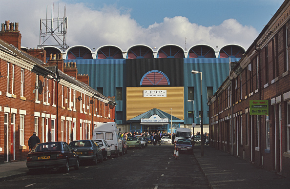 General View「Maine Road Home of Manchester City 2001」:写真・画像(1)[壁紙.com]