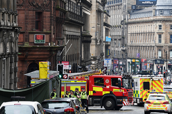Glasgow - Scotland「Police Officers Shoot Knifeman Dead In Central Glasgow Hotel」:写真・画像(10)[壁紙.com]