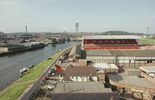 General View「City Ground Home Of Nottingham Forest 1980」:写真・画像(6)[壁紙.com]