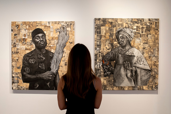 "Black History in the UK「""The Medium Is The Message"" Exhibition At Unit London」:写真・画像(16)[壁紙.com]"