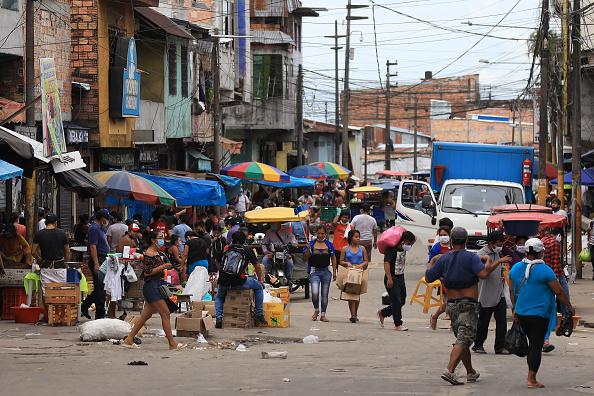 General View「Capital of Peruvian Amazonas Overwhelmed by Coronavirus」:写真・画像(3)[壁紙.com]