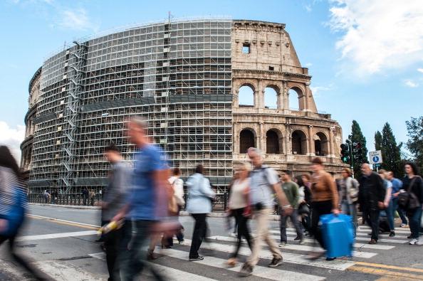 Rome - Italy「Colosseum Restoration Work To Begin」:写真・画像(18)[壁紙.com]