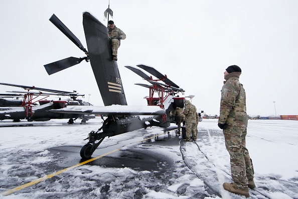 Infantry「US Army Helicopters Arrive In Belgium As Part Of Atlantic Resolve」:写真・画像(12)[壁紙.com]