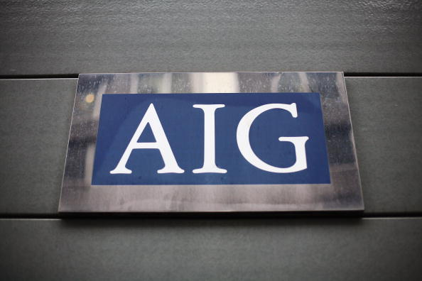 AIG「Workers Arrive At The Offices Of Troubled Insurance Company AIG」:写真・画像(1)[壁紙.com]