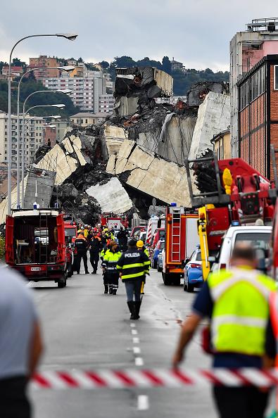 Bridge - Built Structure「Morandi Highway Bridge Collapse in Genoa, Italy」:写真・画像(17)[壁紙.com]