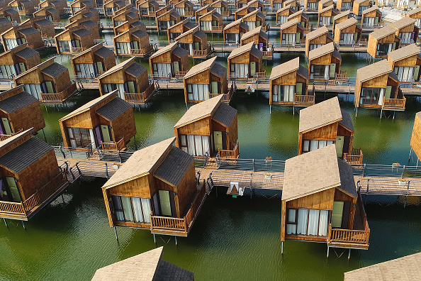 Hebei Province「Yuetuo Island Dutch-Style Cabins」:写真・画像(4)[壁紙.com]