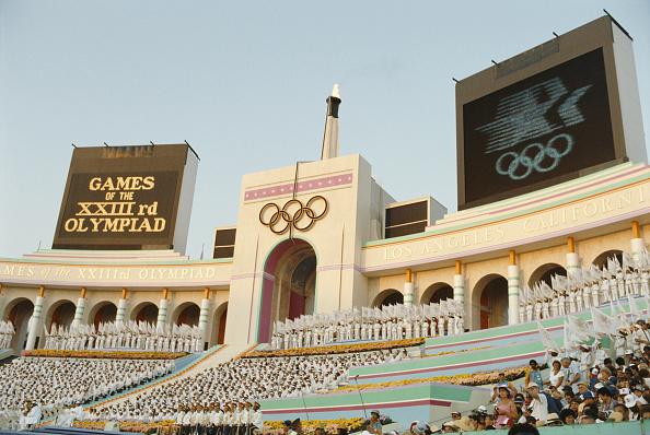 Opening Ceremony「XXIII Olympic Summer Games」:写真・画像(18)[壁紙.com]