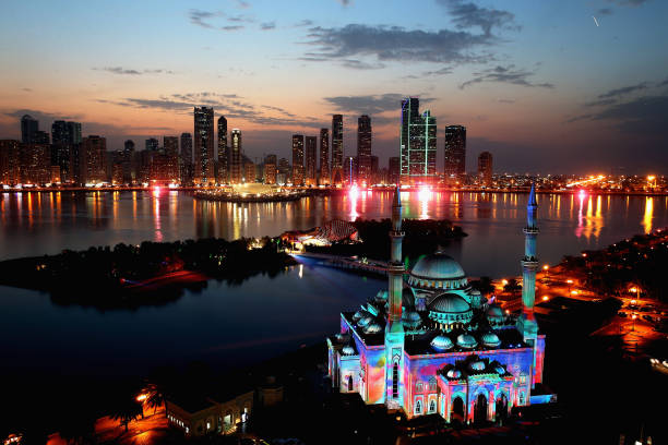 Sharjah Light Festival:ニュース(壁紙.com)