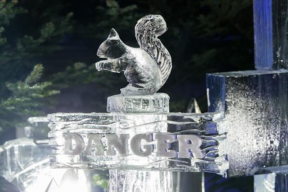Ice Sculpture「The Magical Ice Kingdom At Hyde Park Winter Wonderland 2015」:写真・画像(3)[壁紙.com]