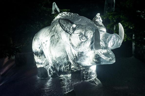 Ice Sculpture「The Magical Ice Kingdom At Hyde Park Winter Wonderland 2015」:写真・画像(1)[壁紙.com]