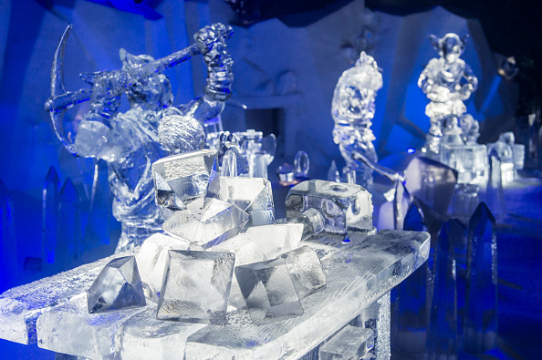 Ice Sculpture「The Magical Ice Kingdom At Hyde Park Winter Wonderland 2015」:写真・画像(8)[壁紙.com]