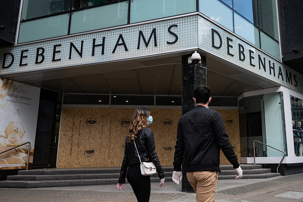 Boarded Up「Debenhams To File For Administration Amid Coronavirus Lockdown」:写真・画像(0)[壁紙.com]