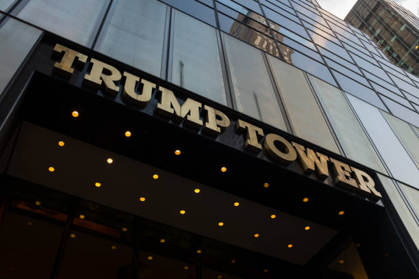 Building Exterior「Trump Tower」:写真・画像(15)[壁紙.com]
