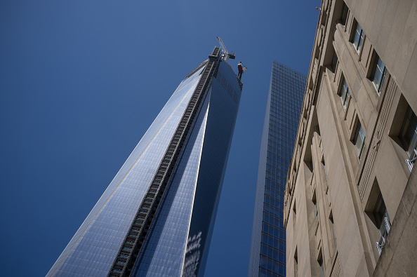 最上部「One World Trade Center Topped Out」:写真・画像(7)[壁紙.com]