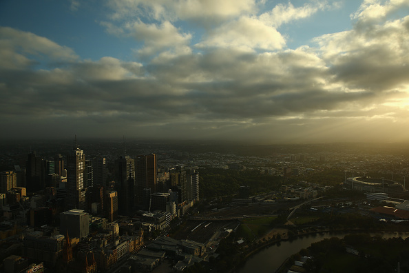 General View「View Of Melbourne At Sunrise From The Eureka Skydeck」:写真・画像(11)[壁紙.com]