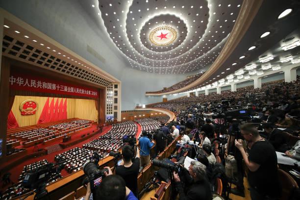 China's National People's Congress (NPC) Opens In Beijing:ニュース(壁紙.com)