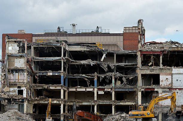 Demolition At The Former News International Site At Wapping Continues:ニュース(壁紙.com)