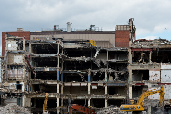 Corporate Business「Demolition At The Former News International Site At Wapping Continues」:写真・画像(12)[壁紙.com]