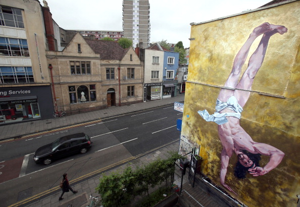 Graffiti「Controversial Mural Of Breakdancing Jesus Is Unveiled」:写真・画像(0)[壁紙.com]
