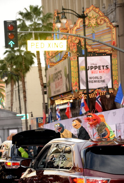 """El Capitan Theatre「Premiere Of Disney's """"Muppets Most Wanted"""" - Arrivals」:写真・画像(9)[壁紙.com]"""