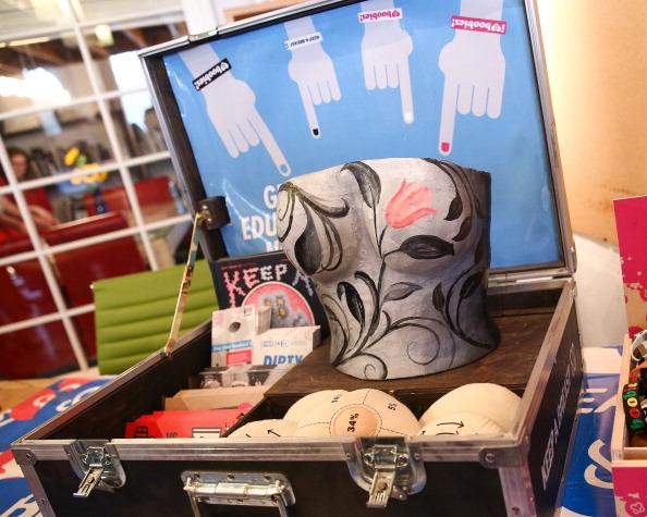 "Breast Cancer「Calavera x Kim Saigh x Keep A Breast - ""Bikinis, Boobies And Beer"" - Tattoo Print Swimwear Collection Launch, For Breast Cancer Awareness」:写真・画像(8)[壁紙.com]"