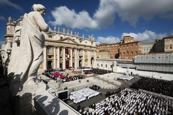 Religious Mass「The Inauguration Mass For Pope Francis」:写真・画像(1)[壁紙.com]