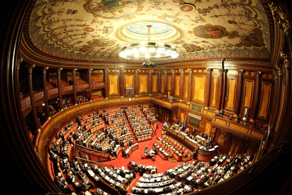 Politics「The Italian Senate Votes Over Berlusconi Parliament Expulsion」:写真・画像(17)[壁紙.com]