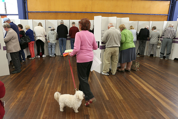 Tony Feder「Australians Head To The Polls To Vote In 2016 Federal Election」:写真・画像(4)[壁紙.com]