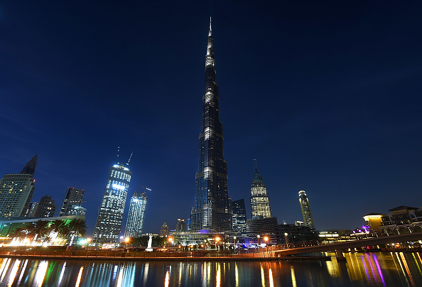 自然・風景「General Views of Burj Khalifa in Dubai」:写真・画像(16)[壁紙.com]